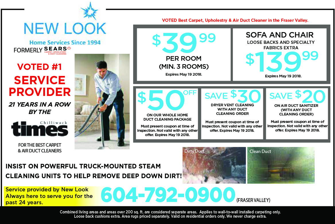 carpet and duct cleaning specials