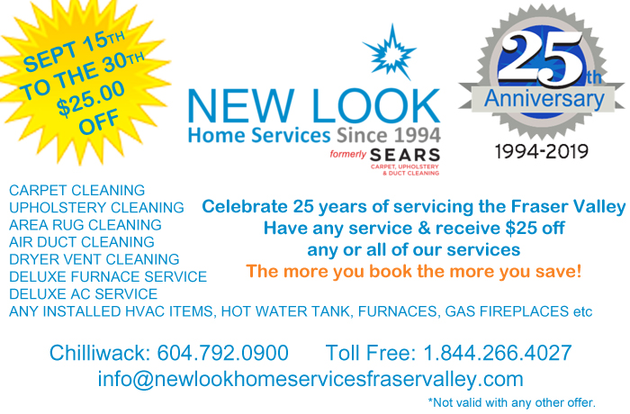 $25 off any or all of our services. The more you book the more you save!